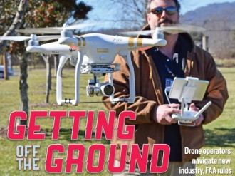 Sky's the limit: Drone operators on front lines of an exciting new industry