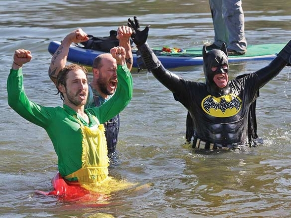 Polar plunge raises $30,000 education