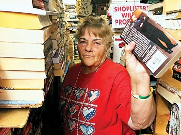 A piece of plastic is all you got: Books still a revered treasure for Mary Judith Messer