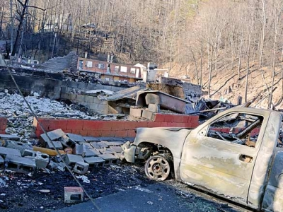 Two charged with starting Tennessee fires