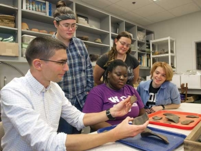WCU professor gets award for archaeological excellence