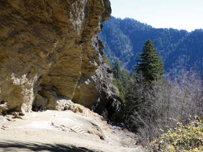 To the bluffs: Two-year Alum Cave Trail project culminates