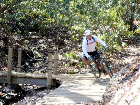 Cherokee unveils trail system