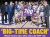 A life in coaching: WCU's Hunter earns career 700th win