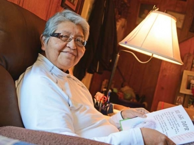 Cherokee laughter: Tribe's newest Beloved Woman reflects on life full of love for language and community