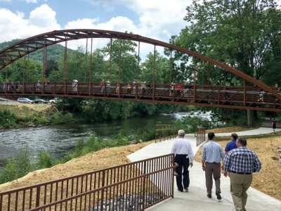 Greenway use rising in Jackson County