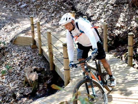 Making it awesome: Cherokee prepares to unveil 10-mile mountain biking system