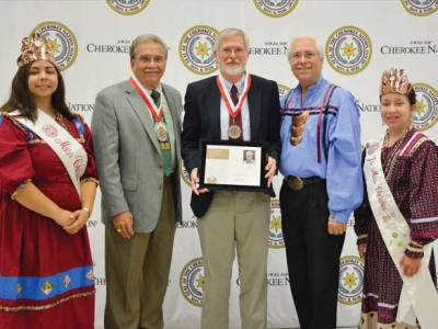 WCU professor receives Cherokee honor