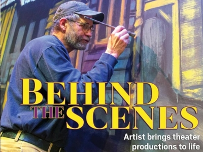 Behind the scenes: Artist brings theater productions to life