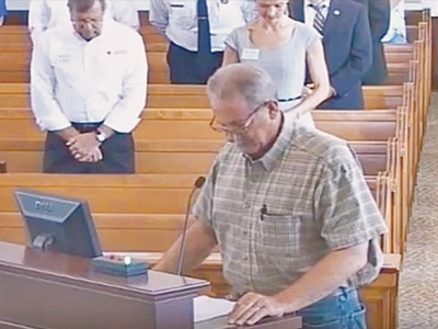 In whose name? Haywood commissioners asking for trouble in prayer case