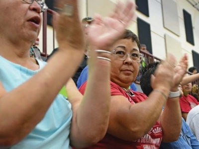 Cherokee chief receives massive support at Grand Council