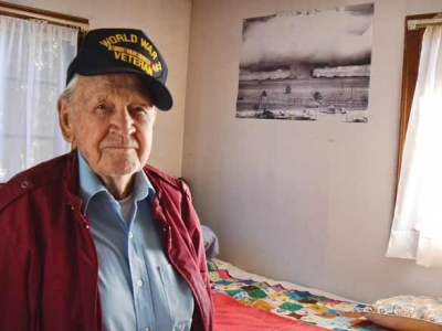 Witness to history: World War II vet reflects on conflict, atomic bomb