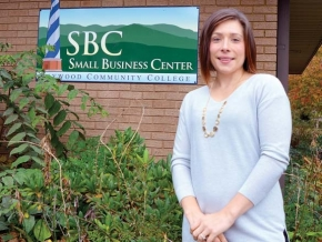 Building business in Haywood County
