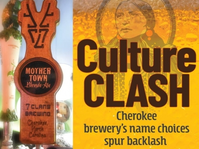 A beer by any other name: Brewery's naming choices cause protest in Cherokee