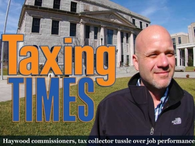 In front of the lens: Tax collector faces uncertain fate