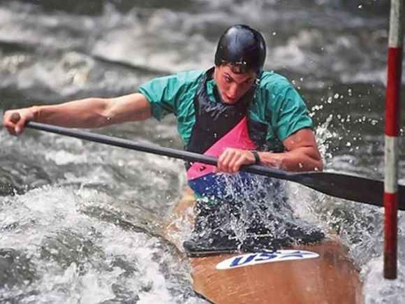 Back to the water: Friends, family remember Bryson City Olympian