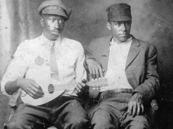 Mountain Heritage Center exhibit on African-American community, music