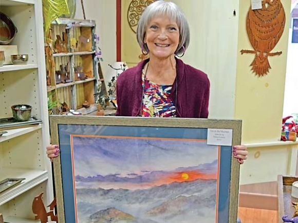Painting helps Swain County artist heal