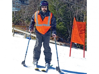 Many ways down the mountain: Adaptive ski program opens doors at Cataloochee