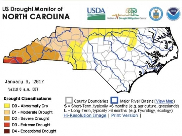 Drought severity lessens in WNC