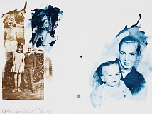 Robert Rauschenberg, 'Bubba's Sister from the Ruminations.'
