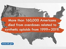 The opioid epidemic has spared no corner of the United States. U.S. Centers for Disease Control and Prevention photo