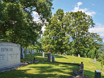 The Friends of Bryson City Cemetery formed five years ago with the mission of maintaining and beautifying the historic Bryson City Cemetery. Jessi Stone photos