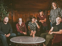 The String Cheese Incident. Bassist Keith Moseley is second from right. (photo: Scott McCormick)