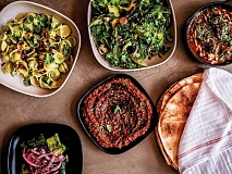 The most recent restaurant addition to downtown Sylva, Jame is a Mediterranean-themed establishment on Main Street. (photo: Courtesy of Jame)
