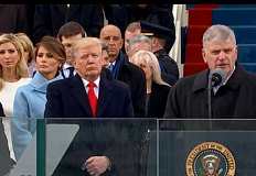 Franklin Graham offered a prayer at President Trump's inauguration in 2017.