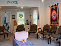Mark Stein (pictured) and Randy Doster see themselves as facilitators and stewards of The Meditation Center. Holly Kays photo