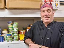 Chef Neil Ravenna looks to transform Pathways' dining services. Cory Vaillancourt photo