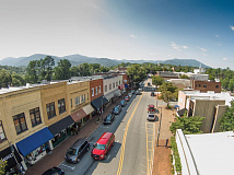 Downtown Waynesville.