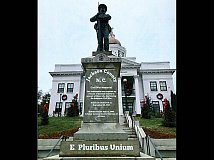 The proposed changes would cover pedestal inscriptions glorifying the Confederacy. Donated photo