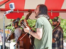 Raleigh-based Into the Fog performs at MerleFest in Wilkesboro Sept. 18. Cory Vaillancourt photos