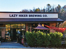 Lazy Hiker Brewing in Franklin.