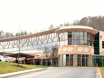 Cherokee Hospital Authority leadership recently asked Swain County commissioners to support a resolution to expand Medicaid in North Carolina. Donated Photo
