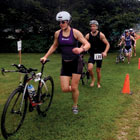 out triathlon
