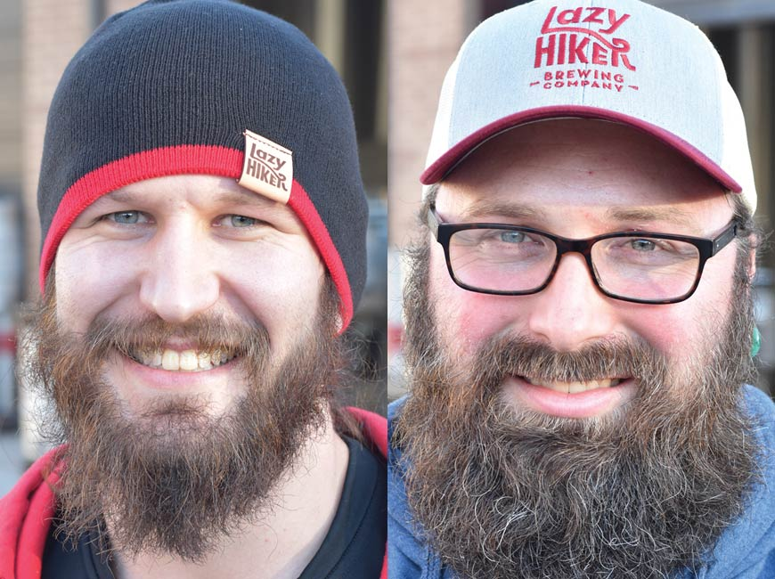 art lazy hiker beards