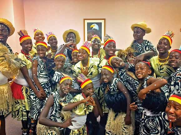 Faith alone: Ugandan group changes lives through performance