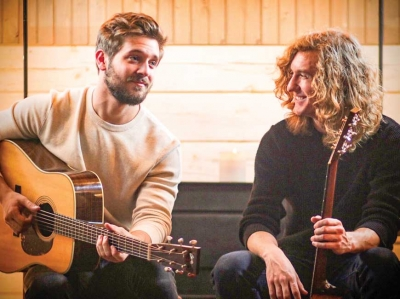 Brothers of a feather: New acoustic duo to make WNC debut