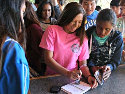 Cherokee students become Smokies experts