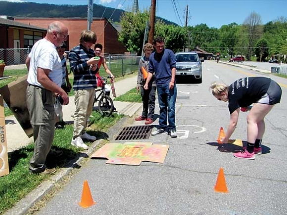 Students fight stormwater pollution