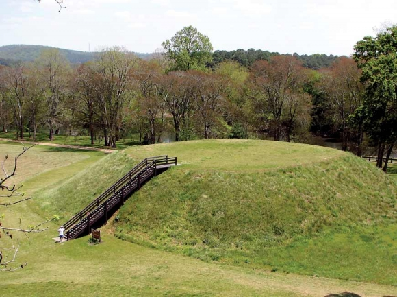 Etowah Indian Mounds State Historic Site.