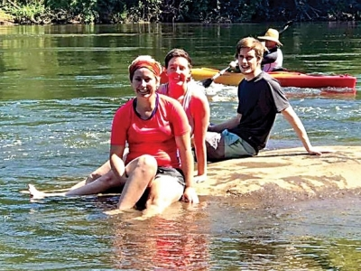 The Naturalist's Corner: Rock Hill on the river