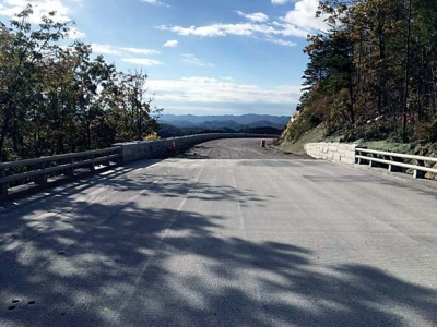 Foothills Parkway complete