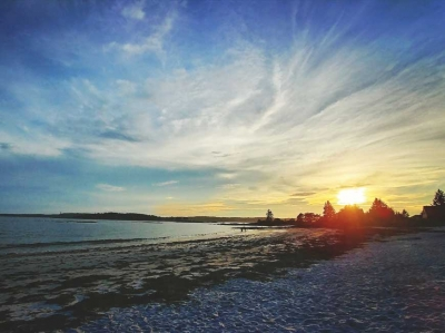 Pemaquid Beach, Maine. Garret K. Woodward photo