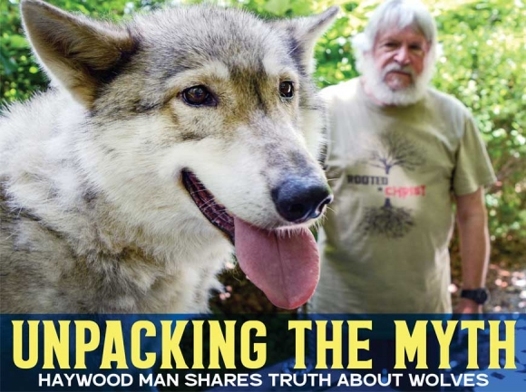 Wolf Tales: Man and his wolf pack combat misunderstandings about America's wild dog