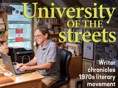 University of the streets: With new book, WNC writer chronicles the Baby Beat movement