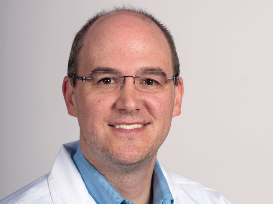 Dr. Nicholas Jernigan, chief medical officer at Harris Regional Hospital and Swain Community Hospital, is a board-certified pediatrician. Donated photo